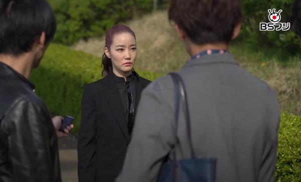 「CODE1515」2話 未来から来た女優(清水葉月)