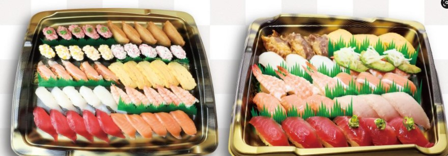 くら寿司の持ち帰り商品写真